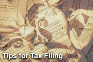 Tax filing tips