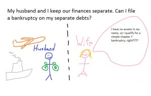 separate finances