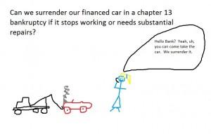 surrender car
