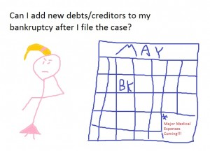 add new creditors