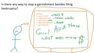 stop garnishment